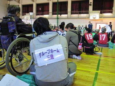避難所(本荘中学校体育館)10.JPG